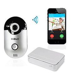 WiFi Video Doorbell Doorphone Home Security Camera Phone Intercom Alarm