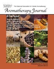 NAHA's Aromatherapy Journal - Autumn 2013.3