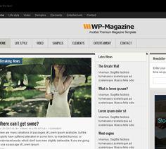 Responsive WordPress theme: wpmagazine