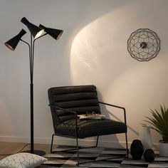 Find stylish lamps to brighten up the home. For everything from reading lamps and functional lights to coloured, unusual styles, shop at Maisons du Monde. Light Up, Maisons Du Monde, Lamp, Spotlight Floor Lamp, Lighting, Home Decor, Floor Lamps Living Room, Room, Stylish Lights