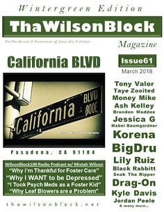 ThaWilsonBlock Magazine: ThaWilsonBlock Magazine Issue61 (March 2018 / Wint...