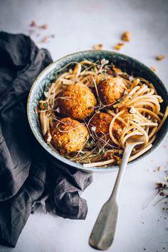 ... carrot walnut meatballs ... #recipes