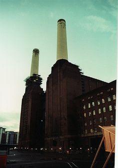 Outside Battersea Power Station, London