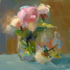 Christine Lafuente, Peonies, opening and Closing