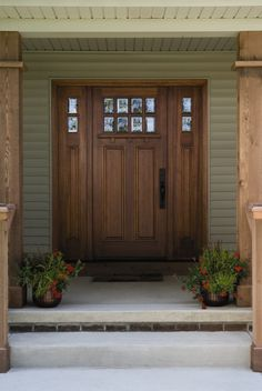 The front door of your home says a lot about who lives inside. But selecting an entry door that fits your home's style, adds value to your home, and is aesthetically beautiful can be an overwhelming process. Because a front door has the ability to add (or subtract) to our home's curb appeal as well as safety, replacing it is consistently rated a high-value project for homeowners to invest in.