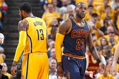 NBA Playoffs Recap—Round One  Cleveland Cavaliers 119 Indiana Pacers 114  Cavs Pacers 29670526e