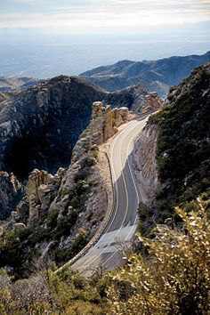 I'd cycle this in a heartbeat! Best Weekend Escape Runner-Up: Tucson, Arizona. (Pictured: Mount Lemmon ride.) Selected for its miles of premier road biking and hiking trails in the nearby Saguaro National Park. (Click through to see full list of Outside Magazine's 2012 Travel Awards.)