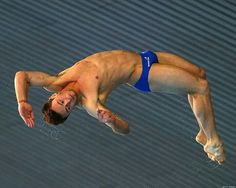 Tom Daley in action. ..
