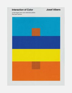 Josef Albers. Such an amazing book and work, on color theory. A must.