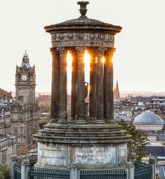 Over looking the city of Edinburgh from Calton Hill at sunset. by ga_dogelam Old Town Edinburgh, Edinburgh Castle, Edinburgh Scotland, Scotland Travel, Ireland Travel, Edinburgh Photography, Travel Photography, Backpacking Ireland, Ireland Culture