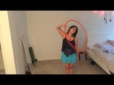 "Smear Variation - ""Handspin Smear or Coinflip smear"" - Beginner Hoopdance Tutorial - YouTube"