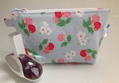 Cath Kidston Cherry Blossom Fabric Cosmetic Bag with by sewmoira