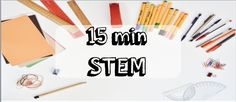 Our 15min STEM ideas can be adapted to suit any class. Just print, laminate and you're ready to go. Click on each activity to find out more about it, readRead More →