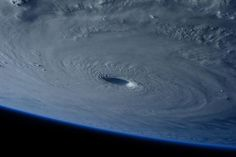 Here's What a Super Typhoon Looks Like From Space