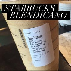 The Starbucks Blendicano and other low calorie Starbucks Swaps Looking for tasty drinks but don't want to drink all of your calories? Try out these skinny swaps for super tasty low-calorie treat Starbucks Hacks, Starbucks Secret Menu, Starbucks Recipes, Starbucks Coffee, Coffee Recipes, Drink Recipes, Keto Recipes, Bar Recipes, Dessert Recipes