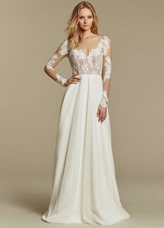 Bridal Gowns, Wedding Dresses by Blush by Hayley Paige - Style 1604