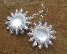 The wedding earrings