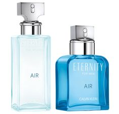 Calvin Klein Eternity  Air For Men  y Eternity Air For Women