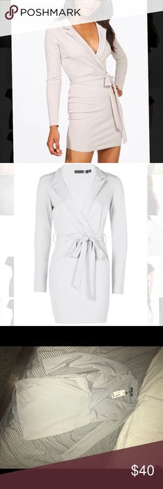 NWT Boohoo Tuxedo Dress NWT Boohoo Dresses Mini