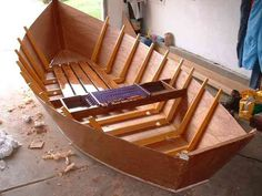 Building a Wooden Flyfishing Boat