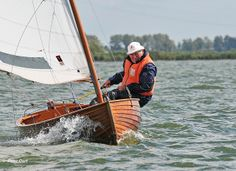 Concentration during the regatta in a 12 foot dinghy class