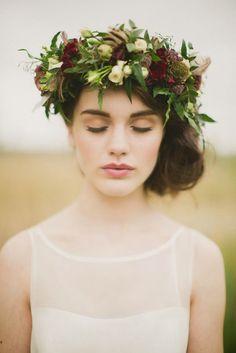 coiffure mariage automne || Amara • Bridal Registry • ||