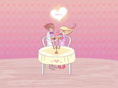 16 dibujos de amor para el Día de San Valentín (14 de Febrero)