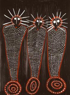 Edna Dale, limited edition fine art print - Wandjina - from the Kimberley Aboriginal Symbols, Aboriginal Dot Painting, Aboriginal Culture, Aboriginal Artists, Indigenous Australian Art, Indigenous Art, Aboriginal Art Australian, Australian Painting, Arte Tribal