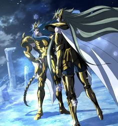Saint Seiya The Lost Canvas Kardia & Dégel
