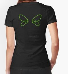 T-Shirt with Chibi Faerie Wings on the Back  Multiple Sizes