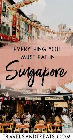 Things you must eat in Singapore and the best Chinatown Singapore food tour. via : Things you must eat in Singapore and the best Chinatown Singapore food tour. Singapore Travel Tips, Singapore Itinerary, Singapore Food, Singapore Sling, Visit Singapore, Bali, Kuala Lumpur, Vols Longs, Penang