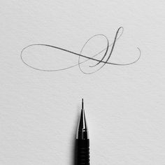 Letter S. #ep_letters #pencillettering #pencilcalligraphy #abcs_s