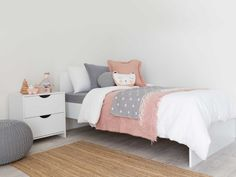 Mocka Brooklyn Single Bed