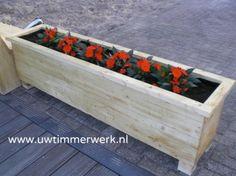Plantenbak 2 in zowel nieuw als gebruikt steigerhout!
