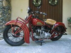 1936 Indian Upside Down Four