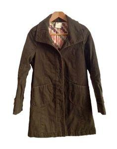 Abrigo verde militar de Roxy