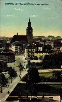 1914 Spandau-Dieses Foto entstand vom Garnisonkirchturm,dieser stand bis 1950…