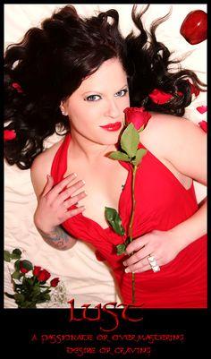 Seven Deadly Sins: LUST (c) Jennifer Dawn Photography