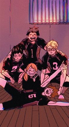 Haikyuu Funny, Haikyuu Fanart, Haikyuu Anime, Haikyuu Wallpaper, Cute Anime Wallpaper, Anime Ai, Manga Anime, Hiro Big Hero 6, Volleyball Anime