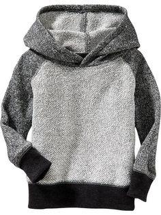 Raglan Sleeve Terry Hoodies for Baby Product Image