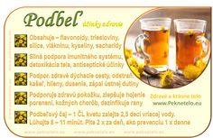 Podbeľ liečivý (lekársky) - poznáte jeho účinky? | Peknetelo.eu Raw Food Recipes, Healthy Recipes, Food Art, Gardening Tips, Planer, Life Is Good, Alcoholic Drinks, Herbs, Wellness