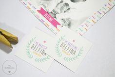 /// PACK BAUTISMO /// Estampitas + tags con cinta + cartel + stickers + toppers + guirnalda. www.milburbujas.com.ar www.facebook.com/milburbujas.dg