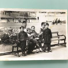 My Dad Mom and 4 Sister. More than 50 years ago. Way before my time :) #family #history #kwok #jkhknyc #beforemytime #oldhongkong