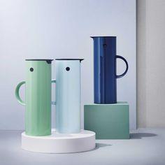 Vacuum jug by Erik Magnussen for Stelton