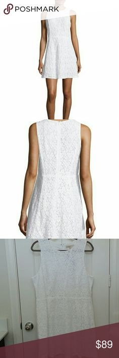 Michael Kors Lace Dress A beautiful lace dress in a flattering A-line silhouette.  Round neckline and concealed back zipper closure. Fully lined.  Brand new with tags. 60% Cotton 40% Nylon MICHAEL Michael Kors Dresses
