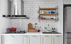 WS Tiles Hand Painted Series x Glass Subway Tile Kitchen Clocks, Kitchen Dining, Kitchen Cabinets, Home Design, Interior Design, Tv Stand Designs, Best Floor Tiles, Character Home, Best Kitchen Designs