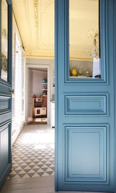 portes anciennes transformées