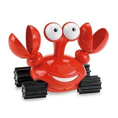 Fisher-Price® Jungle Junction Clack-N-Splash Taxicrab comes to life for some fun tub action! Twist Taxicrab up and watch the wheels spin and watch him move across the water or roll on land!