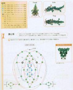 Crystal Beaded Dragon - Beaded Jewelry Patterns 生肖串珠:龙