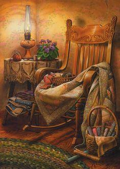 Grandma's Off Her Rocker by Doug Knutson